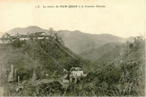 Ải Nam Quan nhìn từ phía Việt Nam