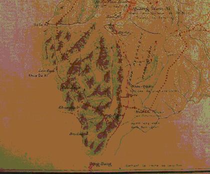 Bản đồ Chapes, ải Kida