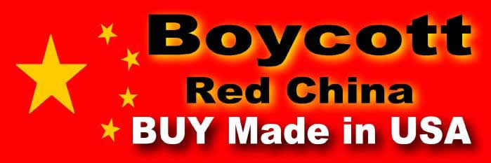 boycott made in china, support made in usa